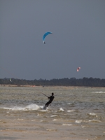 kite surf lac Hourtin